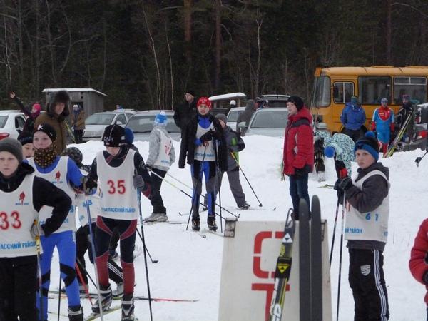 4 Перед первым стартом на лыжах